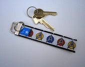 Schlüsselband, Schlüsselanhänger, Star Trek, Mister Spock, Enterprise, handmade