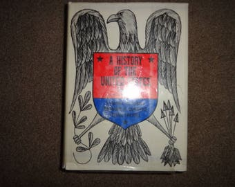 Vintage book A History of the United States