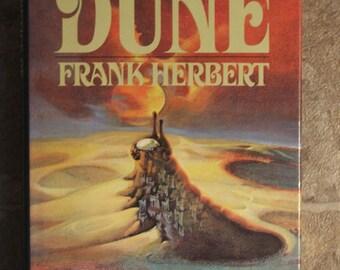Vintage HERETICS of DUNE, Frank Herbert 1984 Hardback with Dust jacket (#425)