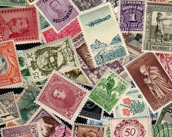 100 OLDER Diff. Worldwide Stamps, World Stamps, Stamps, Stamp Lot, Stamp Collection,Foreign Stamps,Postage Stamps,Lot of stamps,Collages