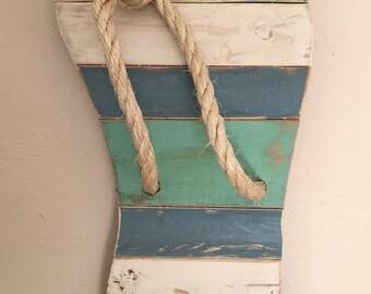 Rustic Flip Flops//Flip Flops//Wooden Flip Flops//Summer Decor//Wall Art//Beach Decor//Gift for Her//Handmade Beach Art//Poolside Decor