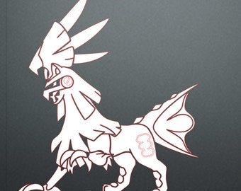 Silvally Decal