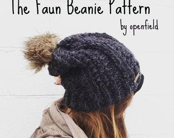 KNITTING PATTERN The Faun Beanie
