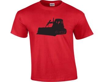 Bulldozer | Bulldozer T-shirt | Cool T-shirt | Men's T-shirt | Bulldozer Graphic Tee | Bulldozer Operator Shirt