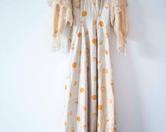 Victorian Lace & Silk || Down Abbey Ballgown || Vintage Edwardian Dress