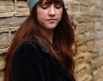 Sophora beret+slouchy Hat PDF knitting pattern (instructions)