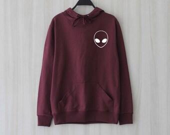 Alien Shirt Hoodie Sweatshirt Sweater Jumper Pullover Shirt