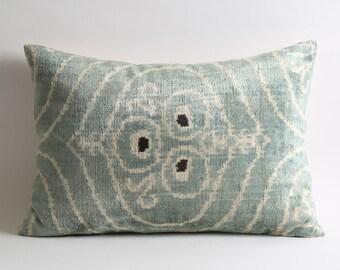 decorative pillow, ikat pillow, velvet pillow, throw pillow, ikat, velvet, pillow cover, velvet ikat pillow, pillow, accent pillow