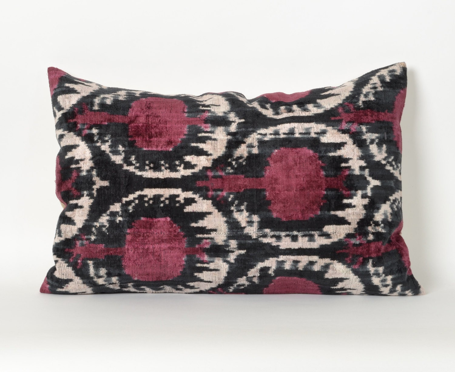 Throw Pillows Velvet : throw pillow velvet pillow ikat pillow ikat decorative by pillowme