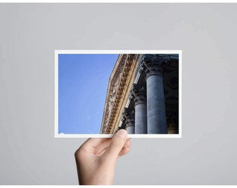 Bank columns | A6 card and envelope