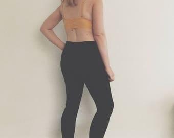 Organic womens leggings - Maternity