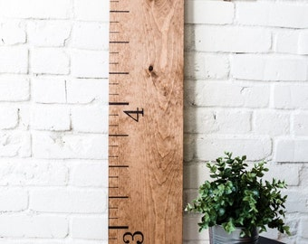 Growth Chart Ruler: Summer Oak | Height Chart | Home Decor | Keepsake Gift | Growth Ruler | Oversized Ruler | Birthday Gift | Mothers Day