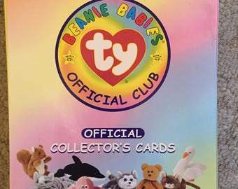 Beanie Baby Binder, Poster and over 300 Cards