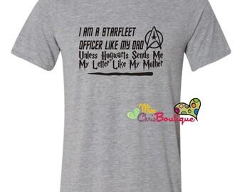 Star Trek shirt, Star Fleet Shirt, star trek fan shirt
