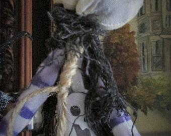 FaNG  - Halloween Art Doll - BLACK FRIDAY SALE !