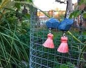Ocean Blue: Pink Silk Tas...