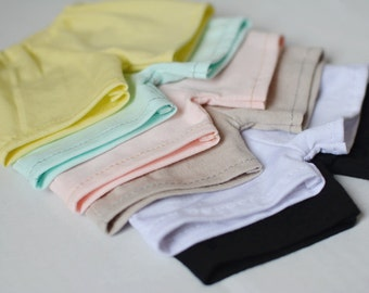 Boxer briefs mens underwear pastel colour shorts A138  BJD msd 1/4 SD 1/3 SD17 SD10 yellow blue pink brown white black
