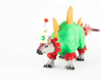 "Party Dinosaur ""Jake""- cake topper, party decor"