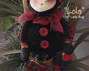 "Doll Kit: ""Lola"" - 19"" Lady Bug"