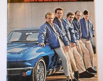 Vintage 1964- The Beach Boys Song Hits Folio- Songbook - Sheet music- RARE