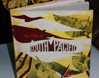 The Tale of South Pacific 1950s Behind the Scenes Book All About the Musical. Costume Design, Set Plans, Music score etc