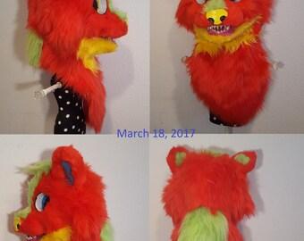 Fursuit Head Custom Made
