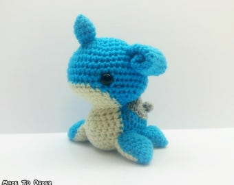 Crochet Lapras Inspired Chibi Pokemon