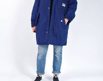 SUMMER SALE - 80s Creem Clothing Huge Oversized Urban Vagabond Street Style Jacket / Size M/L/XL