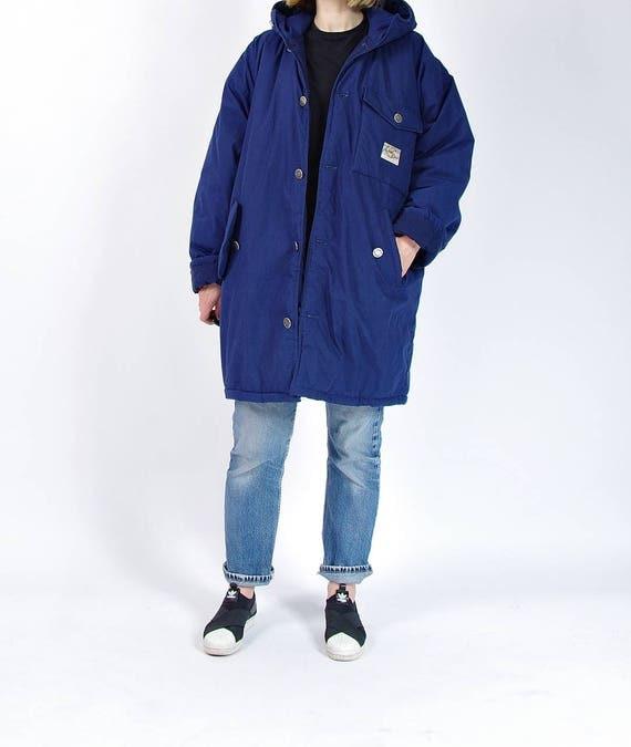 SALE - 80s Creem Clothing Huge Oversized Urban Vagabond Street Style Jacket / Size M/L/XL