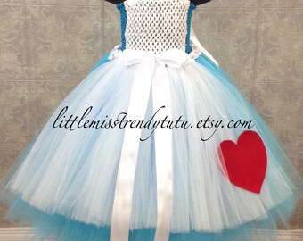 Alice in Wonderland Tutu Dress, Alice Tutu Dress ,Alice in Wonderland Costume, Alice Tutu Dress, Alice in Wonderland Dress, Alice Costume