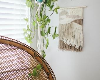 Handmade Weaving // Woven Wall Hanging