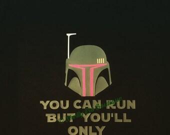 Men's Star Wars Shirt, Boba Fett Shirt, Workout Shirt