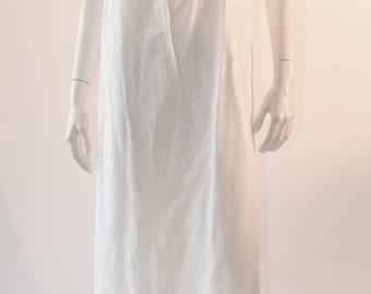 1910s lace yoke Edwardian nightgown