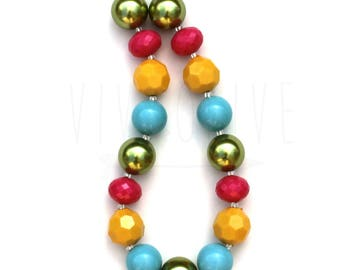 Chunky Necklace - Children's Necklace - Bubblegum Necklace - Kid's Jewelry - Kid's Necklace - Girl's Bubblegum Jewelry - M2M Necklace
