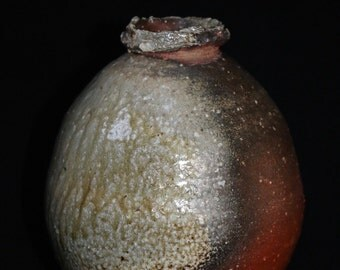 natural ash glaze jar