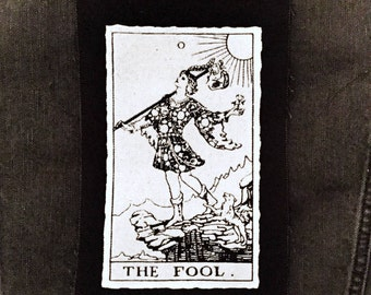The Fool Tarot Card Patch