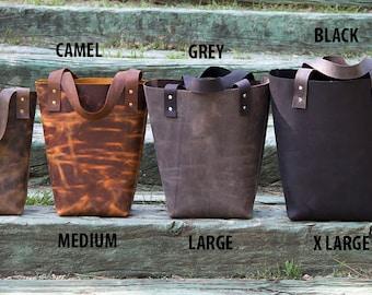 Sale Leather Tote Bag.Leather Tote,Leather Bag,