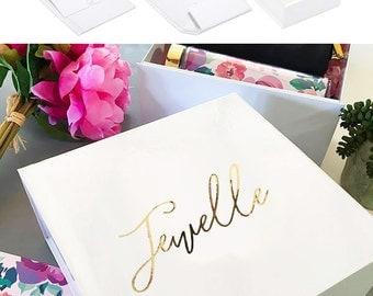 Personalized Gift Box (EB3205BPW) PERSONALIZED EMPTY BOX