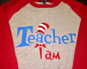 Dr. Seuss Inspired Personalized TShirts