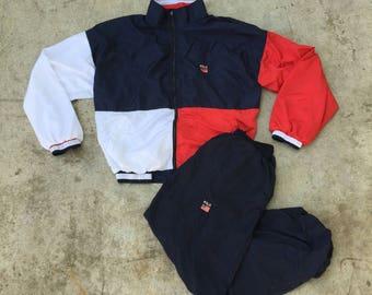 Polo Ralph Lauren Track Suit XL / Broken Zipper