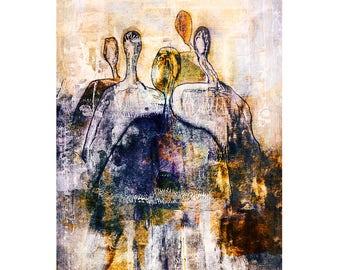 "Art Print ""The Gathering"""