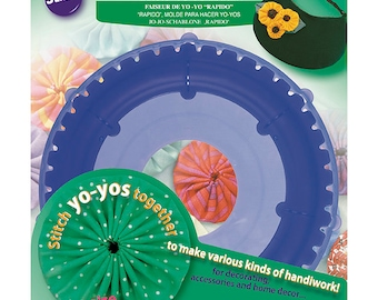 """Jumbo Clover """"Quick"""" YO-YO Maker Finished Size:  3-1/2 inches  ***Instructions Included***"""