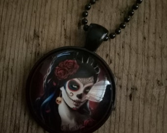 Day Of The Dead- Rose Lady