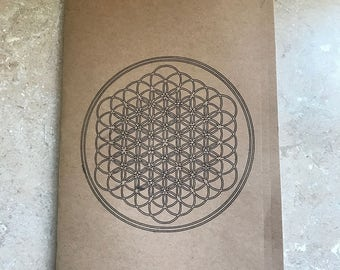 Sempiternal Logo Medium Sized Notebook