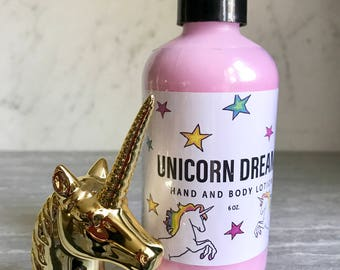 Unicorn Dreams Lotion. 6 ounce lotion