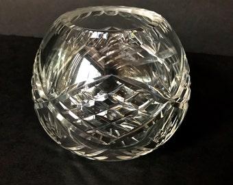Crystal Rose Bowl Etsy