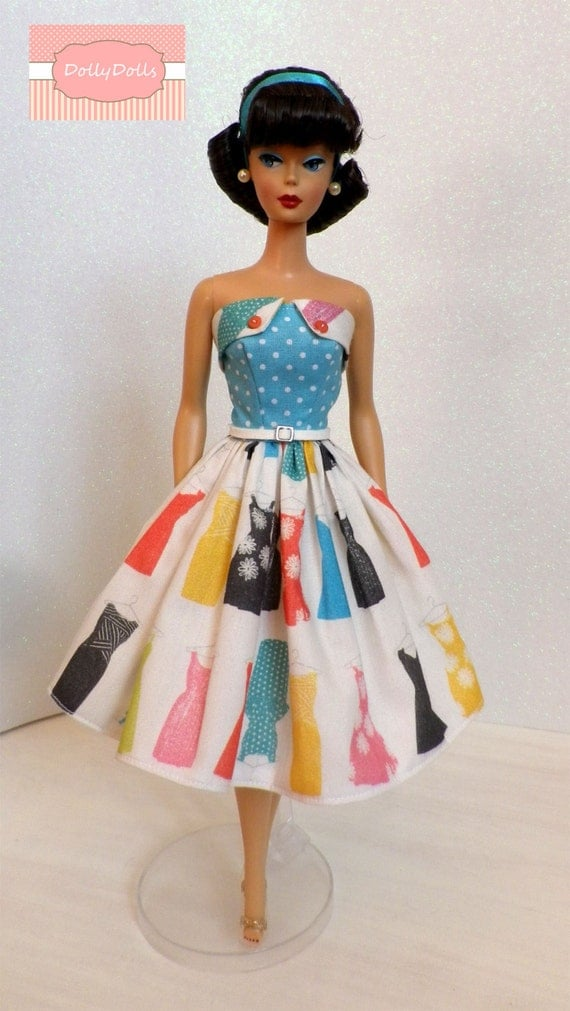 Closet Collection: My Closet Collection. Vintage Style Strapless By MyDollyDolls