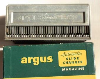 Vintage Slide Changer Magazine, Slide Cartridge, Slide Magazine, Projector Part, Vintage Argus Slide Projector