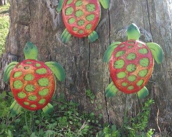 turtle garden decor  etsy, Garden idea