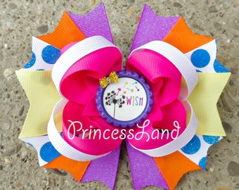 Cute Hair Bows - Girls Bows - Twisted Boutique Bow - Stacked Hair Bow - Hair Bows For Girls